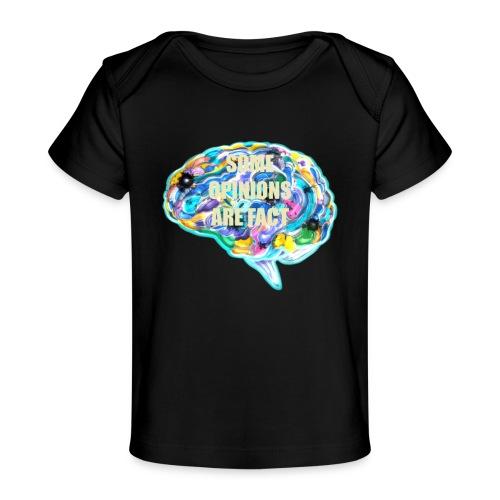 brain fact - Baby Organic T-Shirt