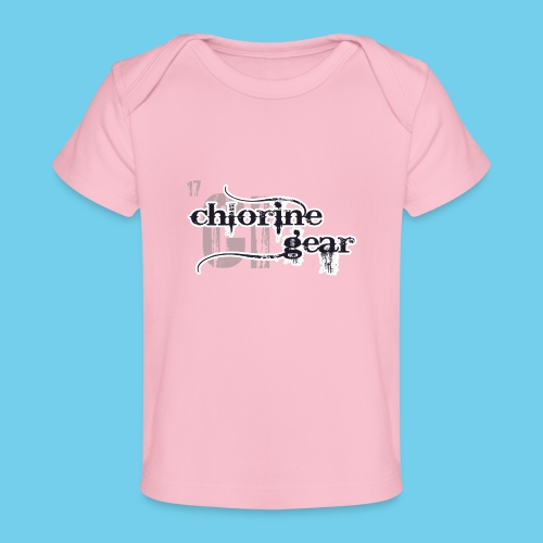 Chlorine Gear Textual B W - Baby Organic T-Shirt