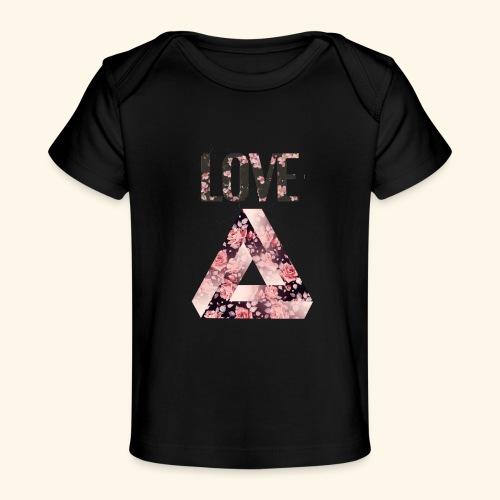 LOVE PRINT - Baby Organic T-Shirt
