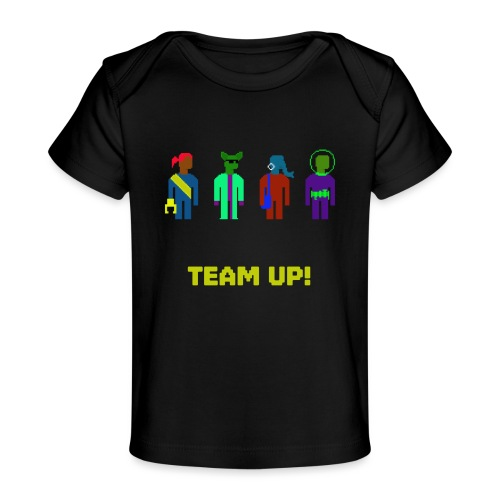 Spaceteam Team Up! - Baby Organic T-Shirt