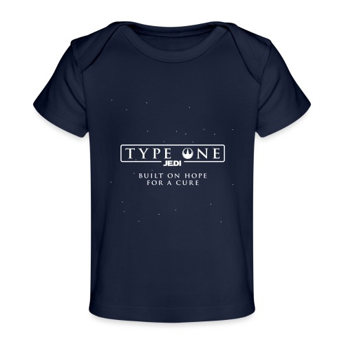 Star Wars Type One Jedi Diabetic Support - Baby Organic T-Shirt