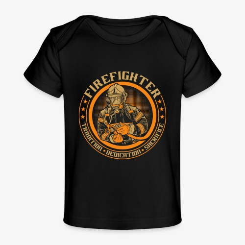 Fire Fighter - Baby Organic T-Shirt