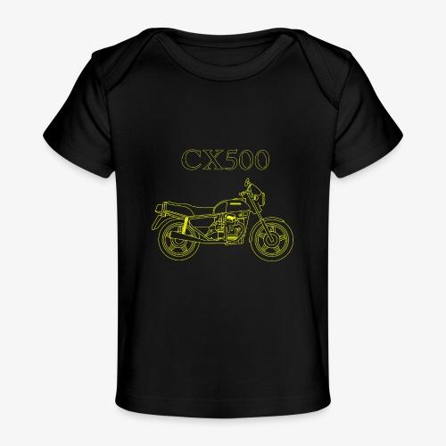 CX500 line drawing - Baby Organic T-Shirt