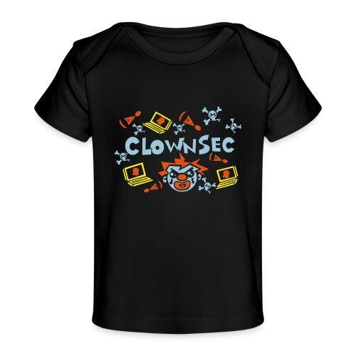 The Clown Hacker - Baby Organic T-Shirt
