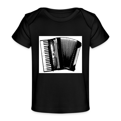 Accordian - Baby Organic T-Shirt