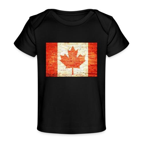 Canada flag - Baby Organic T-Shirt
