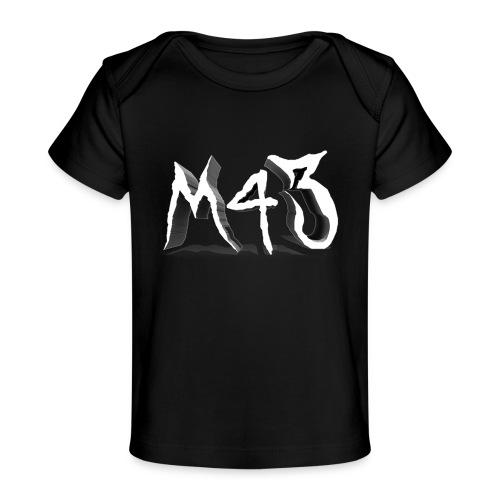 M43 Logo 2018 - Baby Organic T-Shirt