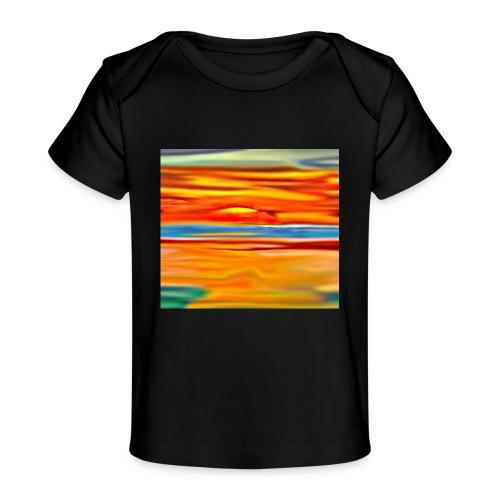 Orange rise - Baby Organic T-Shirt
