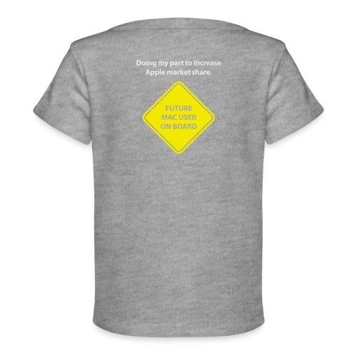 macuseronboard - Baby Organic T-Shirt