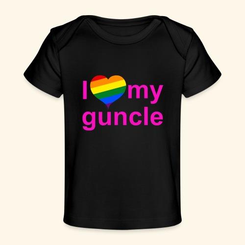 I love my guncle - Baby Organic T-Shirt