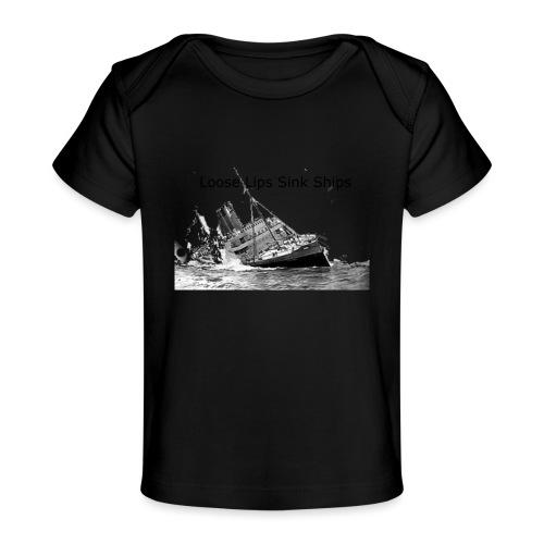 Enron Scandal Joke - Baby Organic T-Shirt