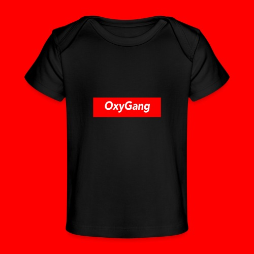 OxyGang: Red Box Products - Baby Organic T-Shirt