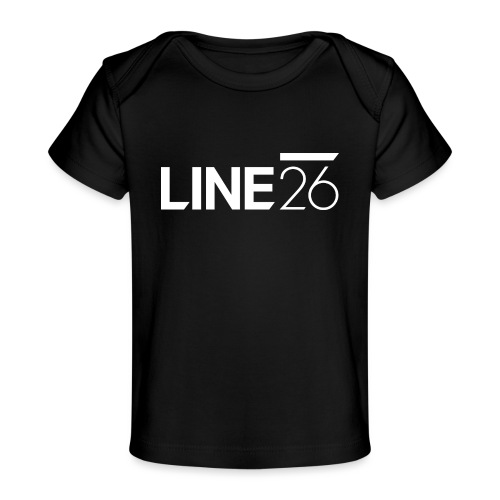 Line26 Logo (Light Version) - Baby Organic T-Shirt