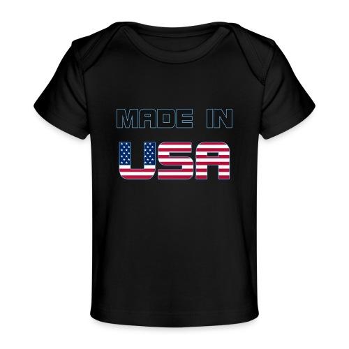 Made in USA - Baby Organic T-Shirt