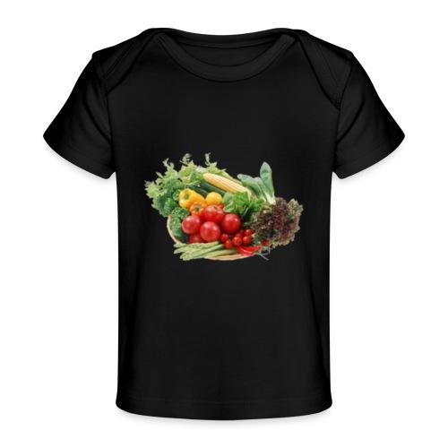vegetable fruits - Baby Organic T-Shirt