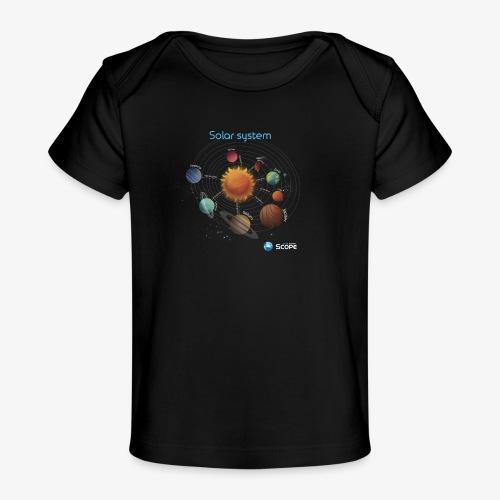 Solar System Scope : Solar System - Baby Organic T-Shirt