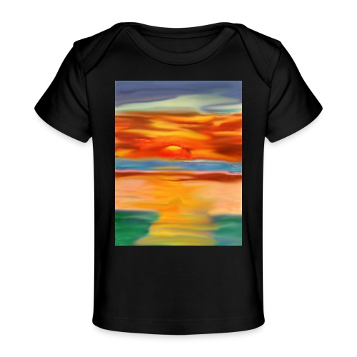 sketch 1527086621355 here comes the sun - Baby Organic T-Shirt