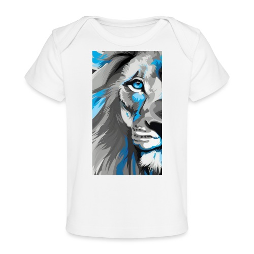 Blue lion king - Baby Organic T-Shirt