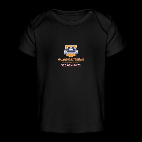 CLASSIC CARS! CLASSIC HOLLYWOOD! - Baby Organic T-Shirt