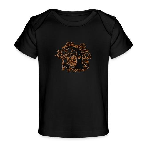 Halloween tree - Baby Organic T-Shirt