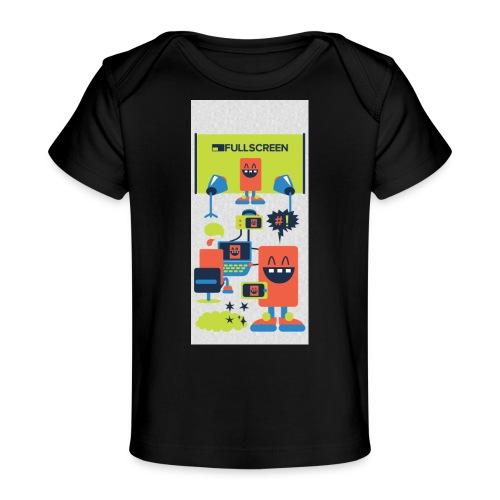 iphone5screenbots - Baby Organic T-Shirt