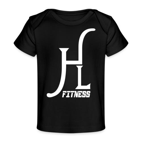 HLF Vector WHT - Baby Organic T-Shirt