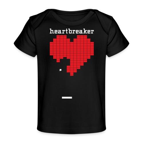 Heartbreaker Valentine's Day Game Valentine Heart - Baby Organic T-Shirt