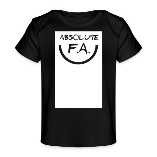 Absolute FA smiley - Baby Organic T-Shirt