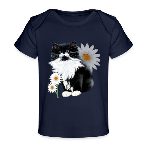 Little Tux Kitten-Daisy - Baby Organic T-Shirt