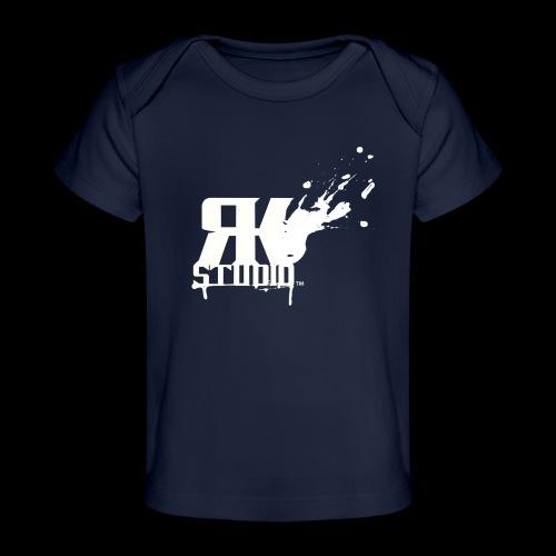 RKStudio White Logo Version - Baby Organic T-Shirt