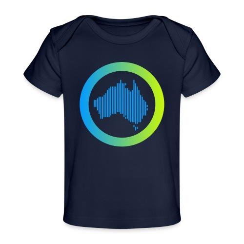 Gradient Symbol Only - Baby Organic T-Shirt