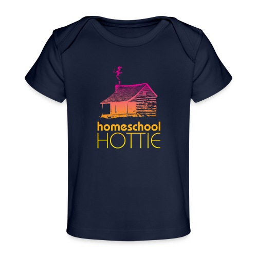 Homeschool Hottie PY - Baby Organic T-Shirt