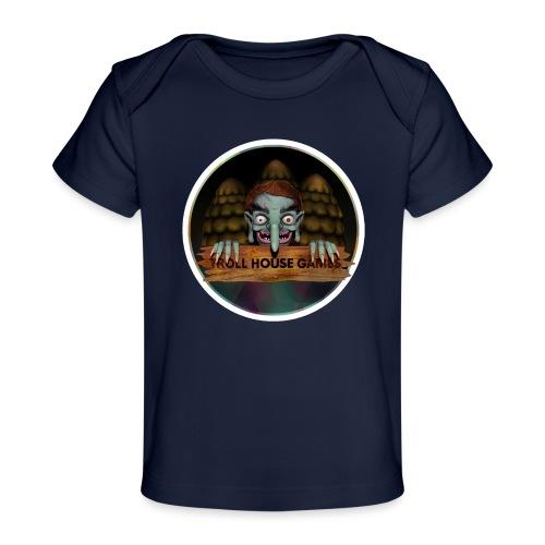 Troll House Games Logo - Baby Organic T-Shirt