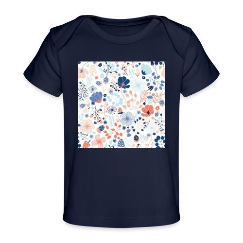 flowers - Baby Organic T-Shirt