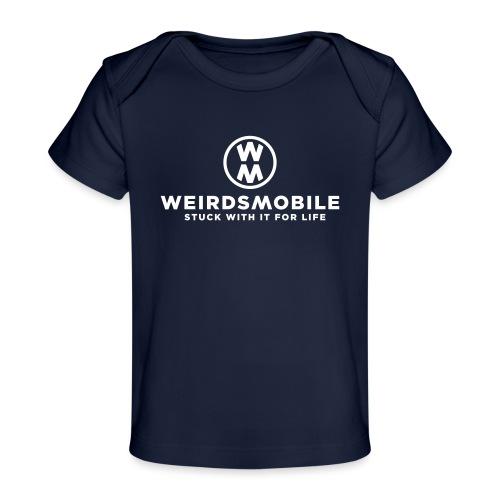 Weirdsmobile White Christmas - Baby Organic T-Shirt