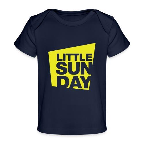 littleSUNDAY Official Logo - Baby Organic T-Shirt