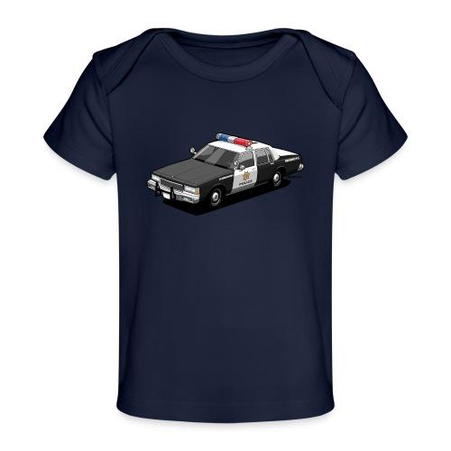 Caprice Classic Police Car - Baby Organic T-Shirt
