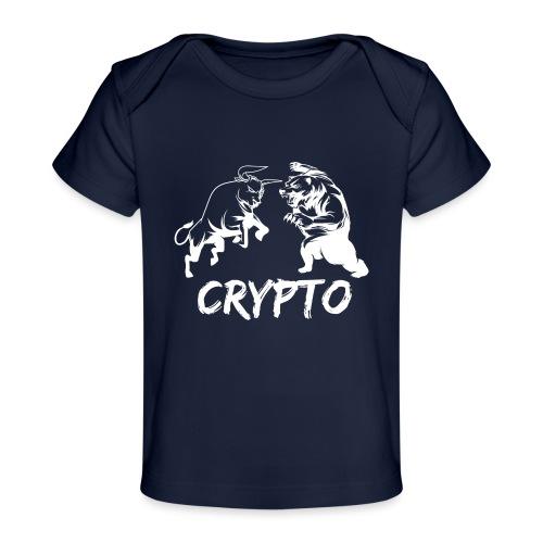 CryptoBattle White - Baby Organic T-Shirt