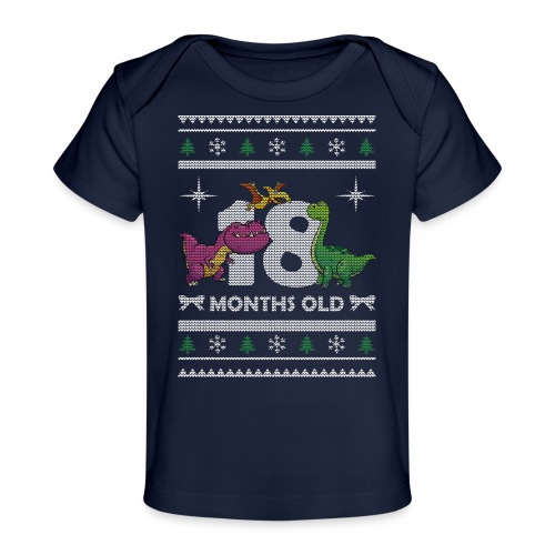 Christmas 18 months old - Baby Organic T-Shirt