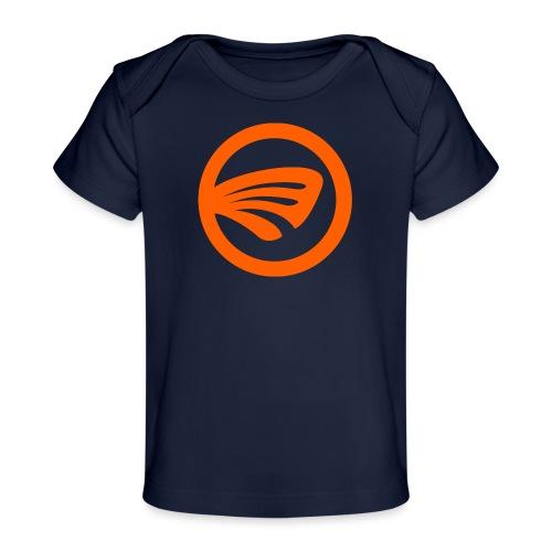 LuckyFin Orange - Baby Organic T-Shirt