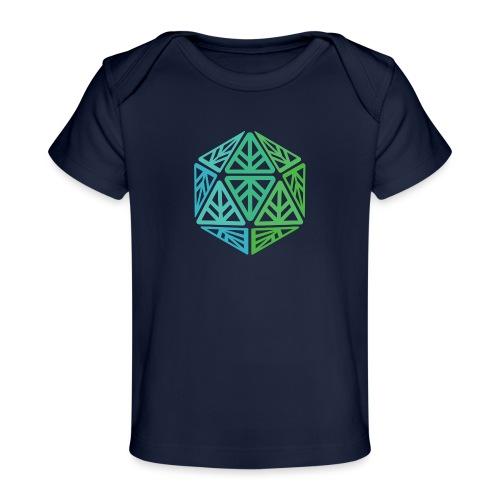 Green Leaf Geek Iconic Logo - Baby Organic T-Shirt