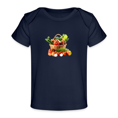 Vegetable transparent - Baby Organic T-Shirt