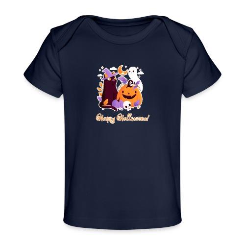 Halloween happy - Baby Organic T-Shirt