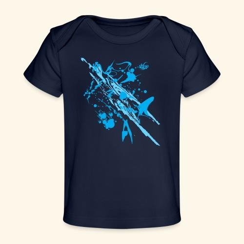 Blue Splash - Baby Organic T-Shirt