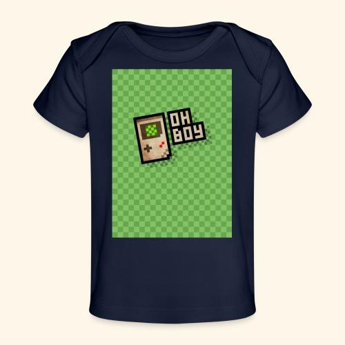 oh boy handy - Baby Organic T-Shirt
