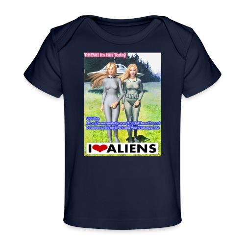 TshirtHotAliens - Baby Organic T-Shirt