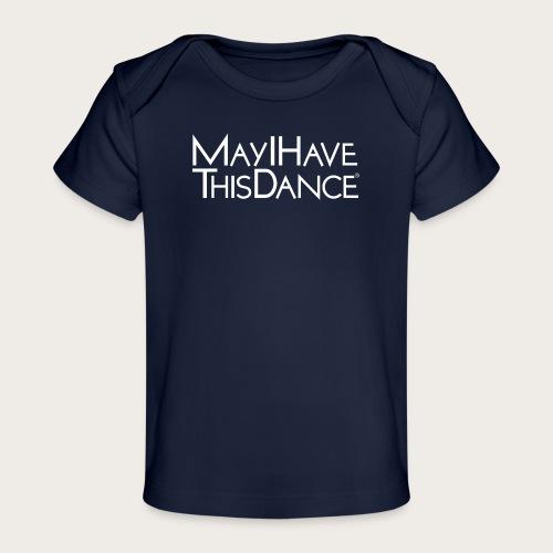 MAYI white logo - Baby Organic T-Shirt