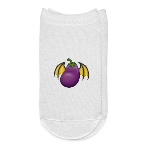 Eggplant Logo - Ankle Socks