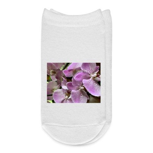 Purple Flower Beauties - Ankle Socks
