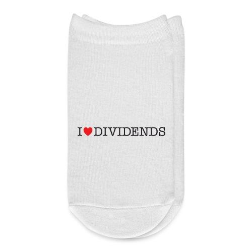 I love dividends - Ankle Socks